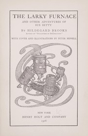 Cover of: The larky furnace by Hildegard Brooks