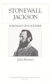 Cover of: Stonewall Jackson by Bowers, John