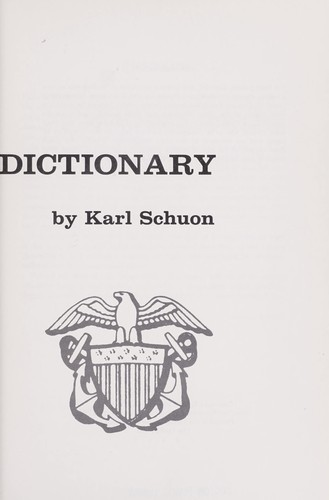 U.S. Navy biographical dictionary by Karl Schuon