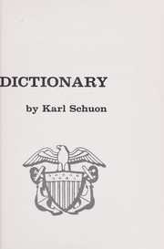 Cover of: U.S. Navy biographical dictionary by Karl Schuon