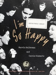 Cover of: I'm so happy | Marvin Heiferman