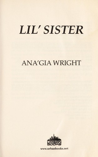 Lil' sister by Anna Gia Wright