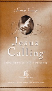 Cover of: Jesus calling | Sarah Young