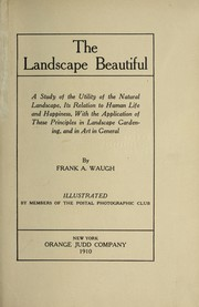 Cover of: The landscape beautiful by F. A. Waugh