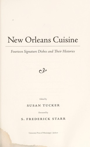 New Orleans cuisine by