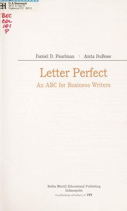 The gregg reference manual open library letter perfect an abc for business writers spiritdancerdesigns Image collections