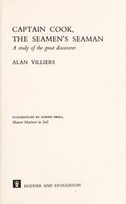 Cover of: Captain Cook, the seaman's seaman | Alan Villiers