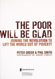 Cover of: The poor will be glad | Peter Greer