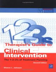 Cover of: Therapist's Guide to Clinical Intervention by Sharon L. Johnson
