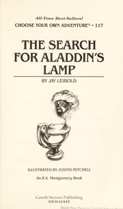 The search for Aladdin's lamp