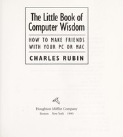 Cover of: The little book of computer wisdom by Charles Rubin