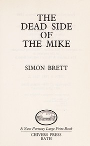 Cover of: The Dead Side of the Mike | Simon Brett