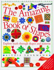 Cover of: The amazing book of shapes | Lydia Sharman