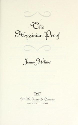 The Abyssinian proof by Jenny B. White