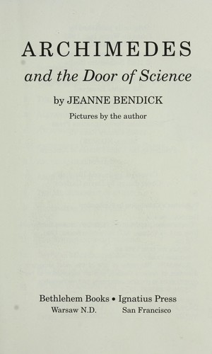 Archimedes and the door of science by Jeanne Bendick