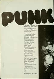 Cover of: Punk rock | Virginia Boston