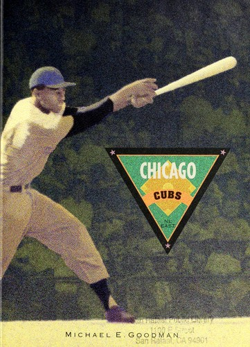 Chicago Cubs by Michael E. Goodman