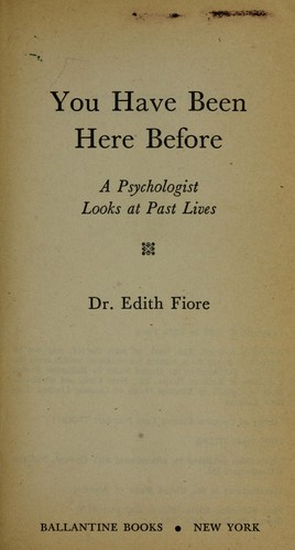 You Have Been Here Before by Edith Phd Fiore