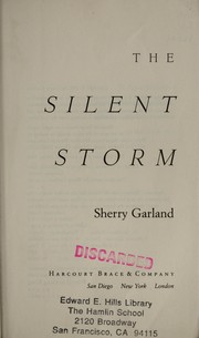 Cover of: The silent storm by Sherry Garland
