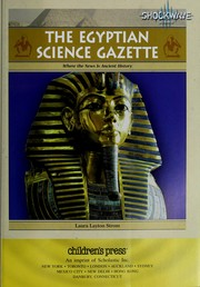 Cover of: The Egyptian science gazette | Laura Layton Strom