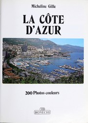 Cover of: Cote D'Azur (Tourist Classics) by Micheline Gille