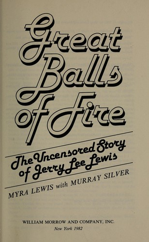 Great balls of fire by Myra Lewis