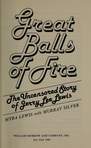 Cover of: Great balls of fire | Myra Lewis