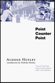 Cover of: Point Counter Point by Aldous Huxley
