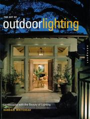 Cover of: Art of Outdoor Lighting by Randall Whitehead