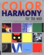 Cover of: Color harmony for the Web | Cailin Boyle
