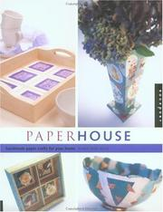 Cover of: Paper house | Mary Ann Hall