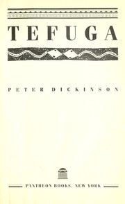 Cover of: Tefuga | Peter Dickinson