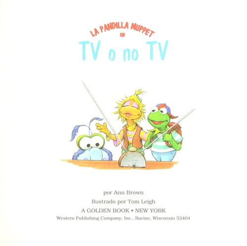 Tv O No Tv by Golden Books