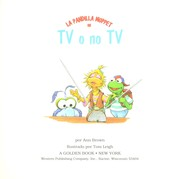 Cover of: Tv O No Tv by Golden Books
