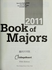 Cover of: Book of majors 2011 | College Entrance Examination Board