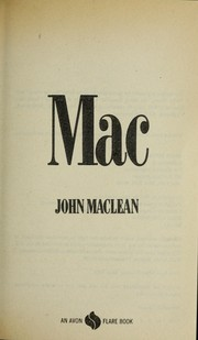 Cover of: Mac by John MacLean