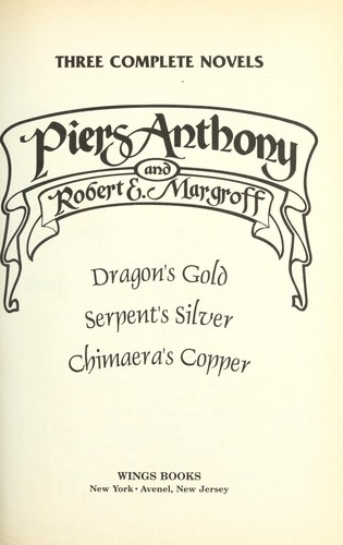 Three complete novels by Piers Anthony