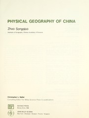 Cover of: Physical geography of China | Sung-chʻiao Chao