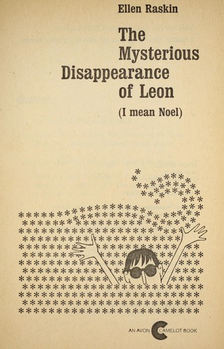 Myst. Disappear of Leon by E. Raskin
