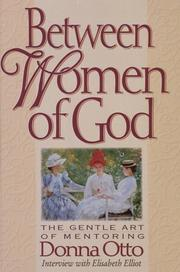 Cover of: Between women of God | Donna Otto