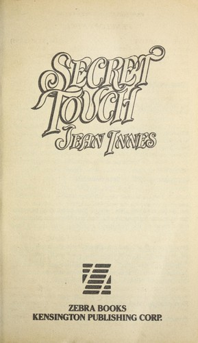 Secret touch by Jean Innes