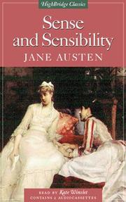 Cover of: Sense and Sensibility by Jane Austen