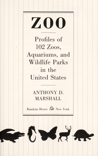 Zoo by Anthony D. Marshall