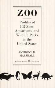 Cover of: Zoo by Anthony D. Marshall