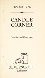 Cover of: Candle Corner | Frances Turk