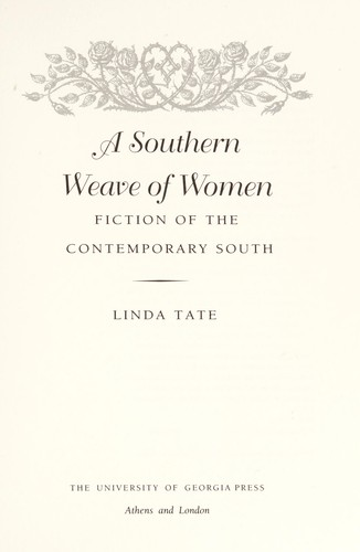A southern weave of women by Linda Tate