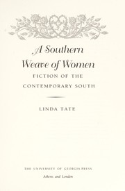 Cover of: A southern weave of women | Linda Tate
