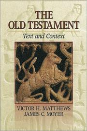 Cover of: The Old Testament | Victor Harold Matthews