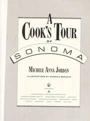 Cover of: A cook's tour of Sonoma | Michele Anna Jordan
