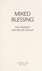 Cover of: Mixed blessing | Doris McMillon